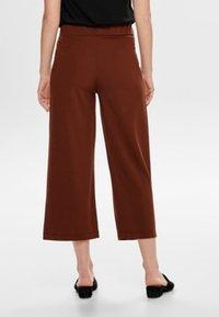 JDY - JRS NOOS - Trousers - brown - 2