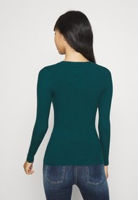 Even&Odd - Sweter - deep teal - 2
