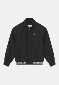 Calvin Klein Jeans - LOGO RLIGHT  - Bomber bunda - black - 0