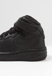 Nike Sportswear - NIKE FORCE 1 MID (TD) - Sneaker high - black - 2