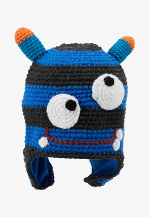 MONSTER BEANIE - Muts - blue