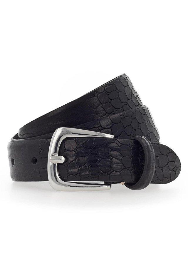 CHARLISA GÜRTEL LEDER - Belt - schwarz