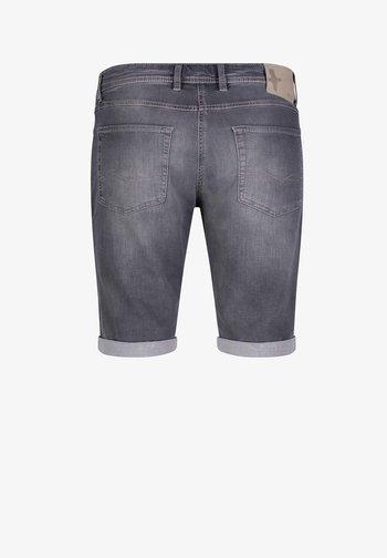BERMUDA - Denim shorts - ashgrey used
