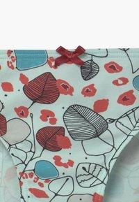 Skiny - GIRLS RIO 3 PACK - Kalhotky - white/turquoise - 4