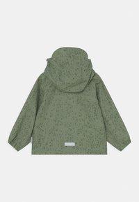 MINI A TURE - JULIEN UNISEX - Waterproof jacket - oil green - 1