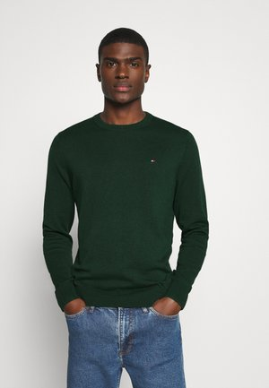 BLEND CREW NECK - Strikpullover /Striktrøjer - green