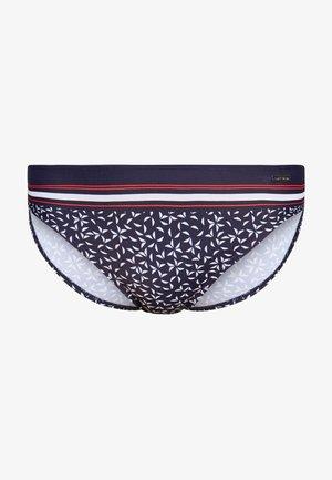 COMPACT PANTS - Bikini bottoms - navy