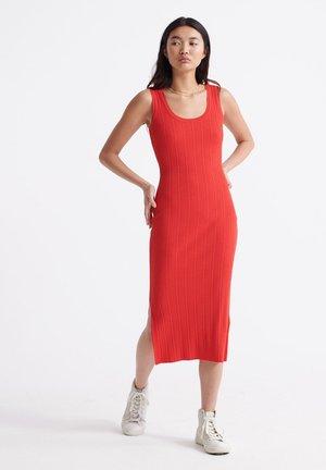 Jumper dress - apple red