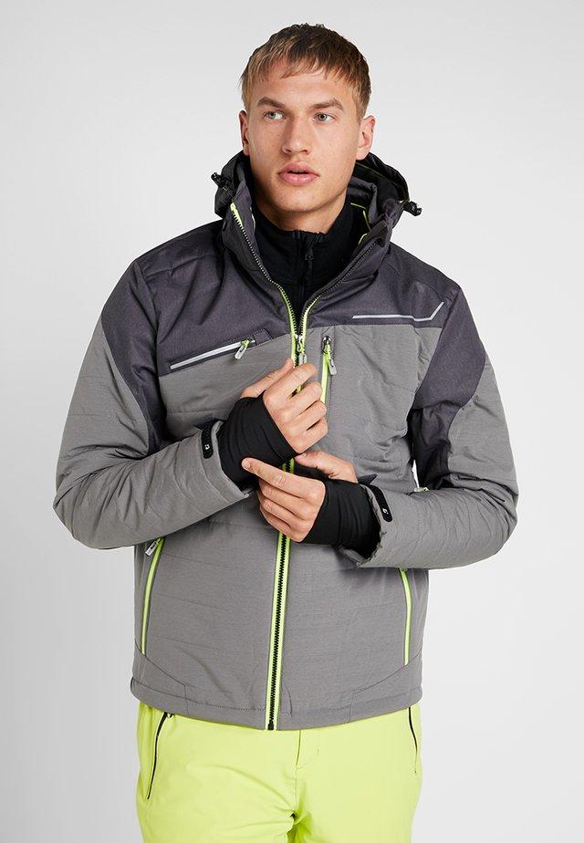 DENNO - Ski jacket - mittelgrau melange