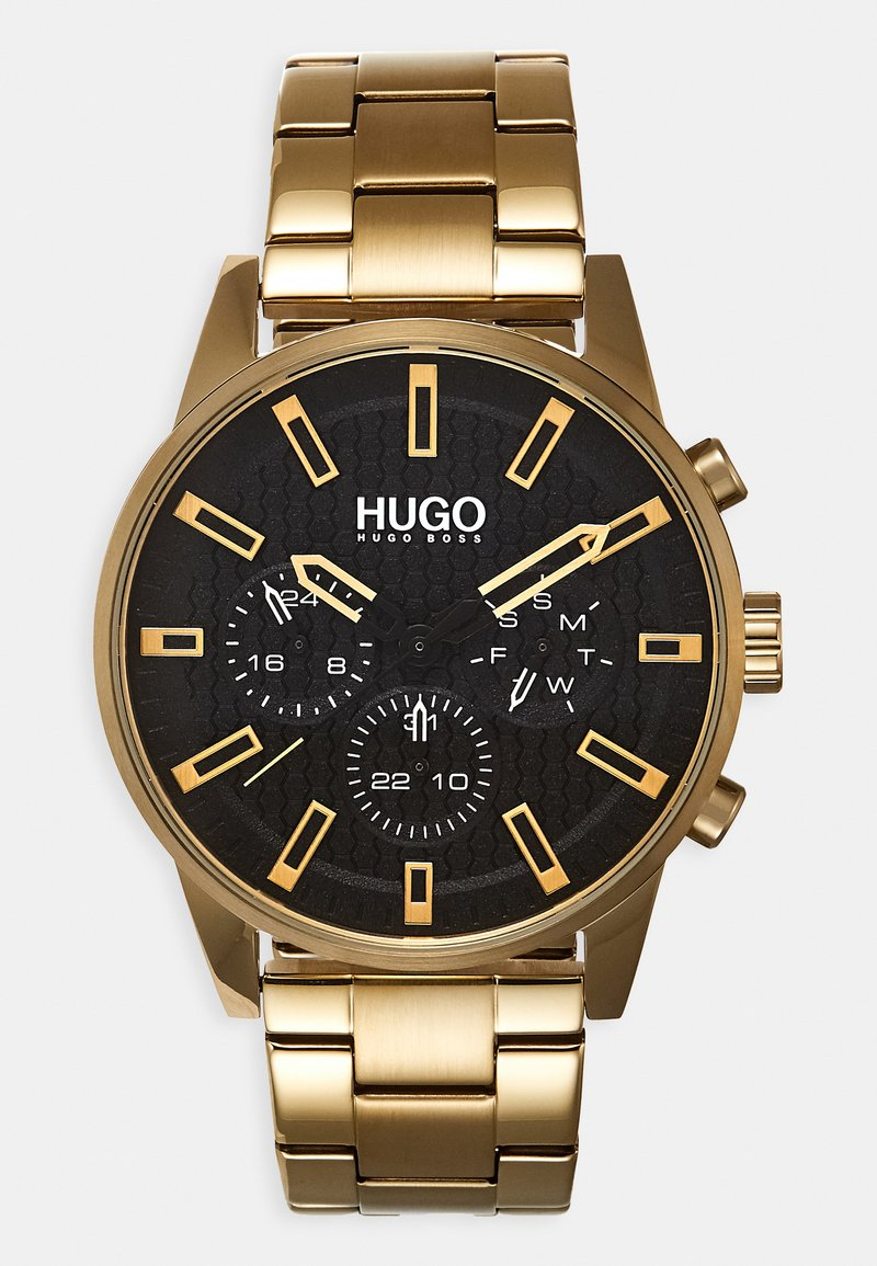 HUGO - #SEEK - Watch - gold-coloured