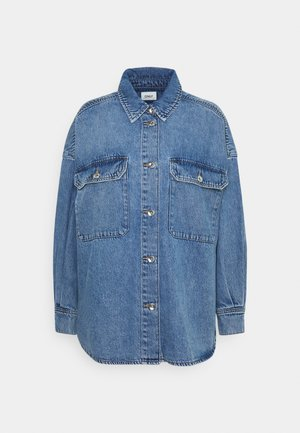 ONLNANNA OVERSIZE WORKER SHIRT  - Skjorte - light blue denim