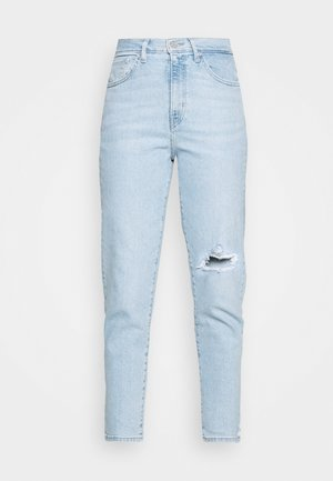 HIGH WAISTED TAPER - Jeans Tapered Fit - light-blue denim