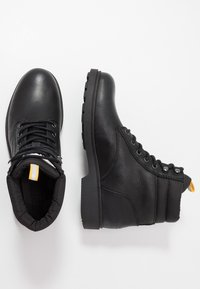Tommy Jeans - CASUAL BOOT - Lace-up ankle boots - black - 1