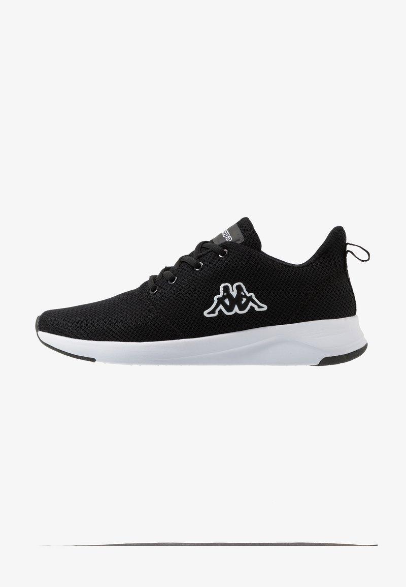 Kappa - CUMBER - Sports shoes - black/white