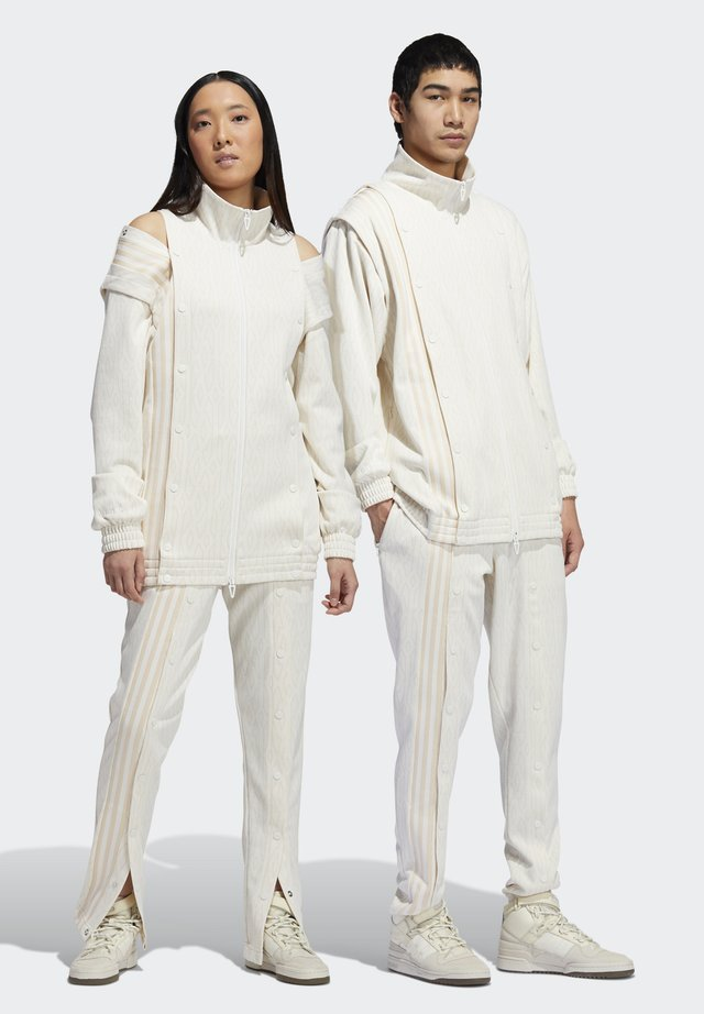 IVY PARK MONOGRAM TRACK PANTS (ALL GENDER) - Tracksuit bottoms - core white