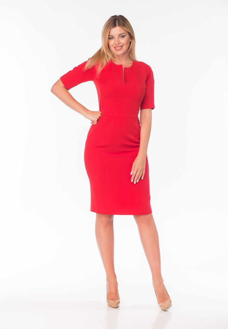Diyas London - Shift dress - red