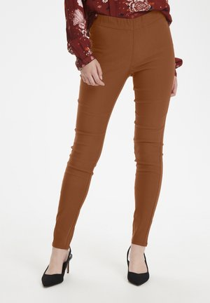 KAJOLEEN - Leggings - Trousers - ginger bread