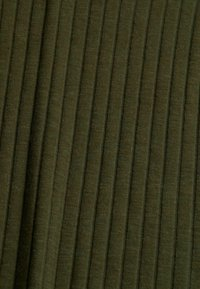 Esprit - HIGHNECK - Long sleeved top - dark khaki - 9