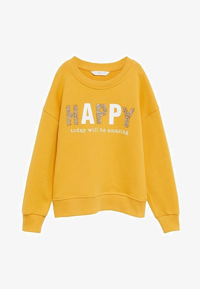 HAPPY - Sweatshirt - moutarde