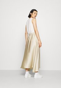 ARKET - MAXI SKIRT - A-lijn rok - beige dusty light - 2