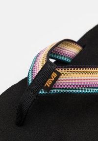 Teva - VOYA - Infradito - antiguous black/multicolor - 5