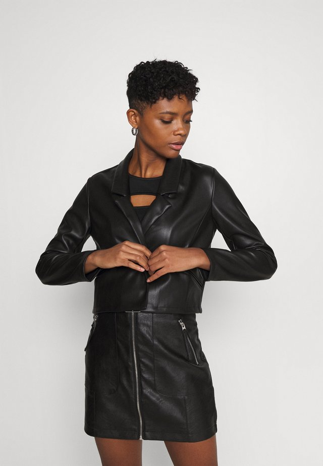 NMHILL  - Giacca in similpelle - black