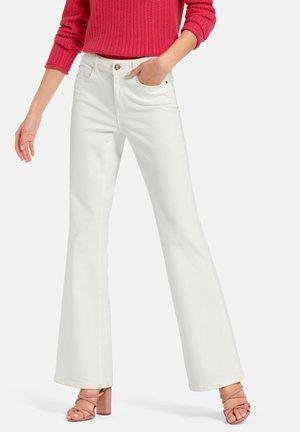 Bootcut jeans - offwhite