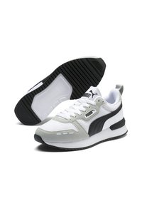 Puma - Trainers - white/gray/violet/black