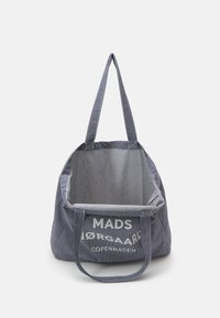 Mads Nørgaard - HEAVY STRIPE ATHENE - Shopping bags - navy/white - 2