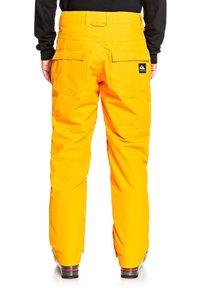 Quiksilver - ESTATE - Snow pants - flame orange - 1