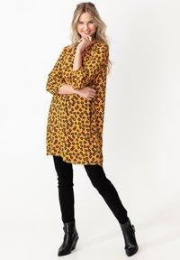 Indiska - TILDA - Day dress - mustard yellow - 1