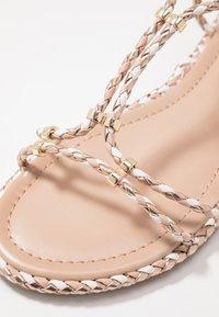 ALDO - QILINNA - Sandals - rose gold - 2