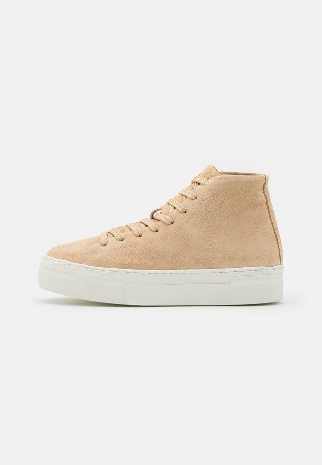 SLFHAILEY TRAINER  - Sneakers hoog - nude