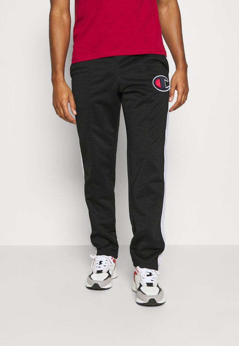 Champion - STRAIGHT PANTS - Teplákové kalhoty - black