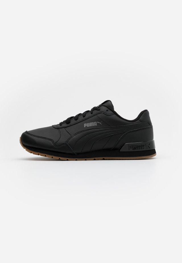 ST RUNNER V2 FULL UNISEX - Sneakersy niskie - black/castlerock/white