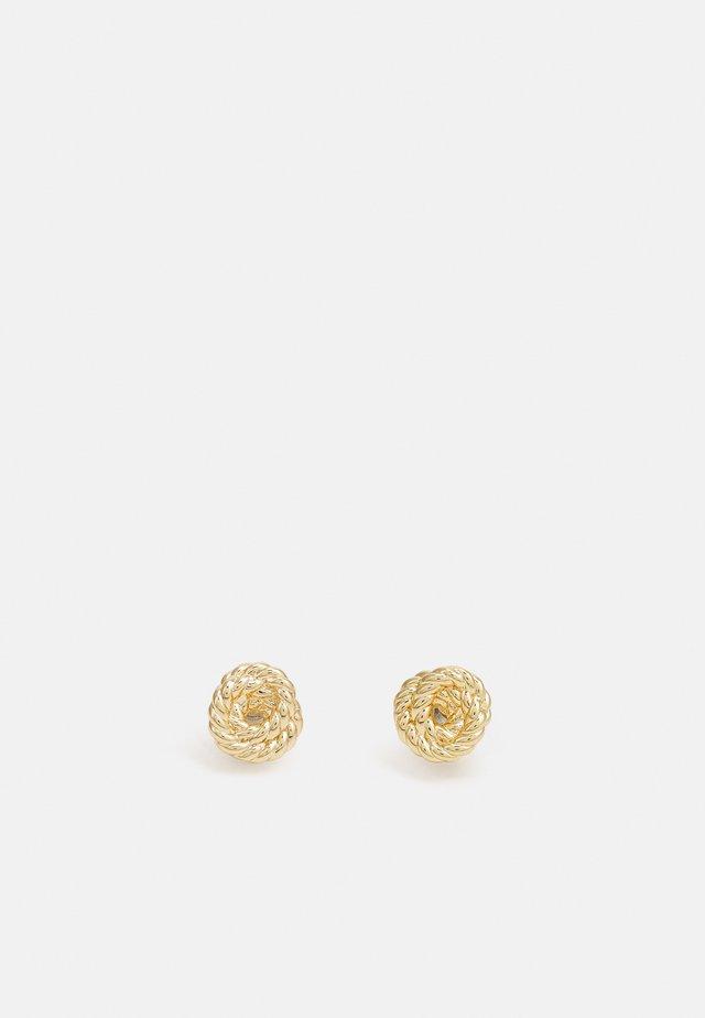 ROPE KNOT - Náušnice - gold-coloured