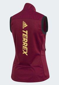 adidas Performance - AGRAVIC XC WINTER X-COUNTRY SKIING VEST - Waistcoat - burgundy - 13