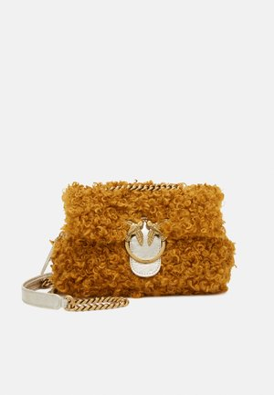 LOVE MINI PUFF CLECOMONGOLIA - Bolso de mano - yellow