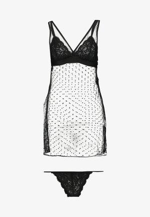 ELISSA SET - Pyjama set - black