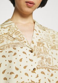 Holzweiler - EDGAR PRINT - Button-down blouse - light yellow mix - 5