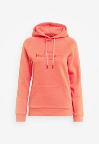 ORIGINAL HOOD - Hoodie - clay red