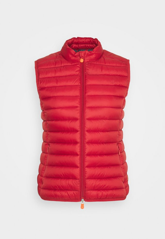 Bodywarmer - winery red