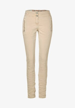 MIT CRASH - Trousers - beige