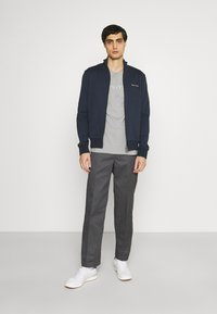 Marc O'Polo - JACKET - Zip-up hoodie - total eclipse - 1