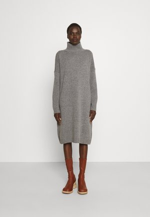 FASCINO - Gebreide jurk - light grey