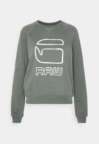 GRAPHIC GRAW STRAIGHT R SW WMN L\S - Sweatshirt - orphus