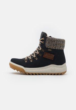 Winter boots - pazifik/anthrazit/graphit/mogano