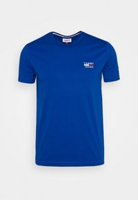 Tommy Jeans - CHEST LOGO TEE - T-shirt med print - blue - 0