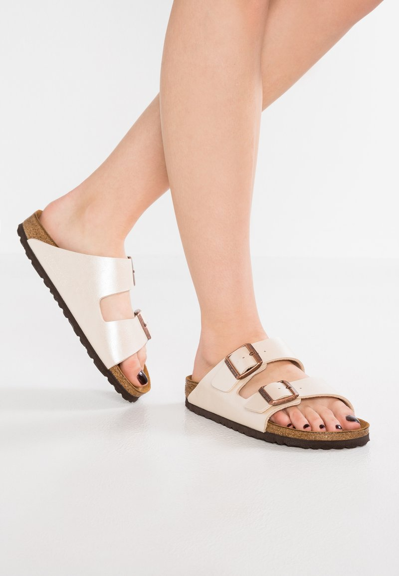 Birkenstock - ARIZONA - Mules - graceful white