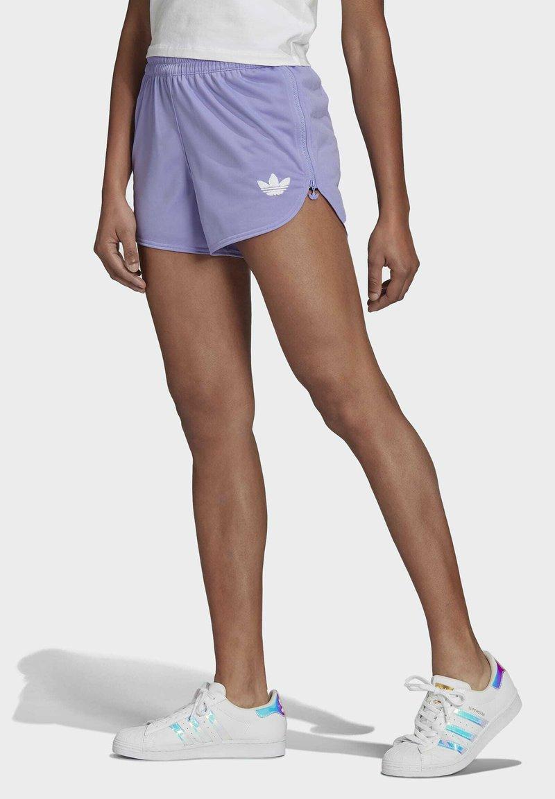 adidas Originals - Shorts - light purple